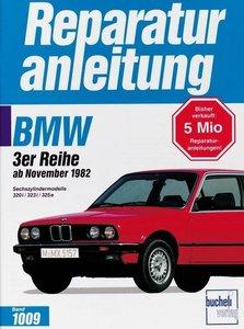 BMW 3er-Reihe ab November 1982. Sechszylindermodelle 320i/323i/3