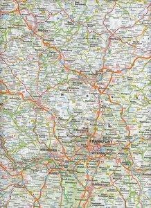 Falk Länderkarte Deutschland Süd 1 : 500 000