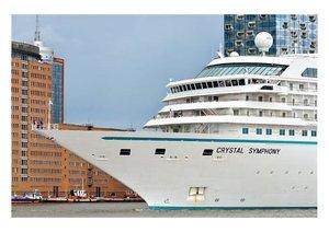 Blaues Band - Kreuzfahrtschiffe (Posterbuch DIN A2 quer)