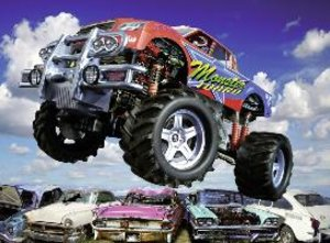 Monstertruck. Puzzle 300 Teile