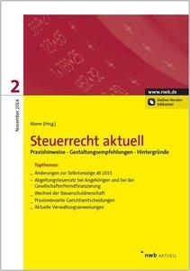 Bieling, B: Steuerrecht aktuell 2/2014