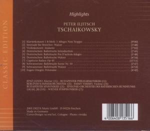 Highlights Peter Tschaikowsky