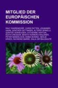 Mitglied der Europäischen Kommission