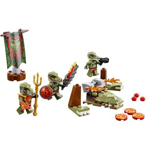 Lego 70231 - Legends of Chima: Krokodilstamm-Set