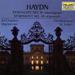 Sinfonien 31 & 45