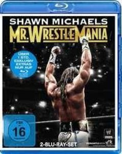 Shawn Michaels-Mr Wrestlemania