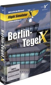 AddOn FSX Flight Simulator X Berlin-Tegel X