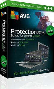 AVG Protection 2016 - Sommer Edition inklusive Selfie-Stick