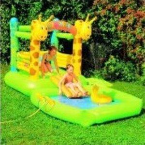 Friedola 14068 - Hüpfburg und Spielpool: Giraffe