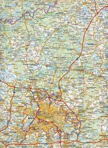 Topographische Landeskarte Brandenburg 1 : 400 000