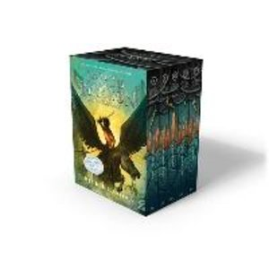 Percy Jackson and the Olympians 1-5. Boxed Set with Poster