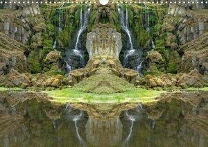 Spiegelwelten - magische Plätze (Posterbuch DIN A3 quer)