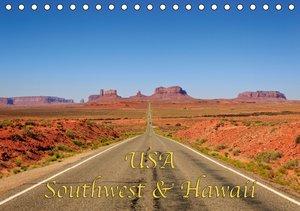 USA Southwest & Hawaii (Tischkalender 2016 DIN A5 quer)