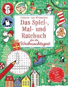 Das Spiel-, Mal- und Ratebuch für die Weihnachtszeit