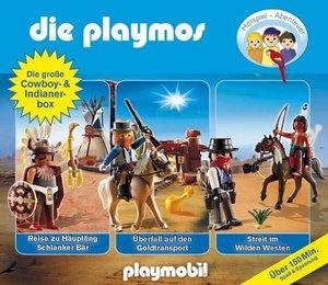 Die Playmos - Die große Cowboy- und Indianerbox