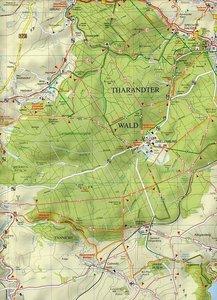 Freiberg Tharandter Wald und Umgebung 1 :35 000. Wander- und Rad