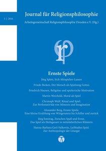 Journal für Religionsphilosophie 6/2016