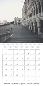 Silent Venice (Wall Calendar 2015 300 × 300 mm Square)