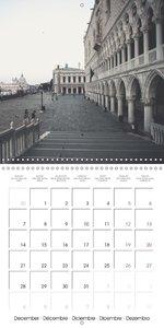 Silent Venice (Wall Calendar 2015 300 × 300 mm Square)