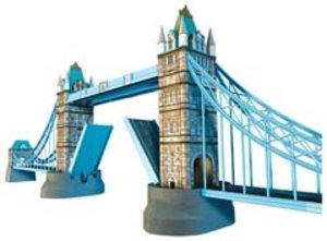 Ravensburger 12559 - Tower Bridge, 3D Puzzle-Bauwerke, 216 Teile