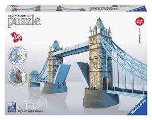 Ravensburger 12559 - Tower Bridge, 3D Puzzle-Bauwerke, 216 Teile