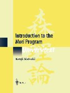 Introduction to the Mori Program