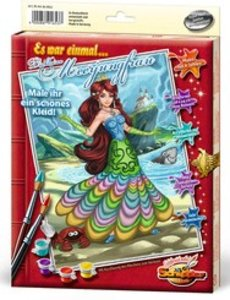 Schipper 609150653 - Meerjungfrau, MNZ, Malen nach Zahlen