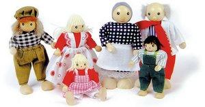 Goki SO204 - Biegepuppen Bauernfamilie I