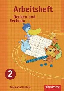Denken und Rechnen 2. Arbeitsheft. Grundschule. Baden-Württember