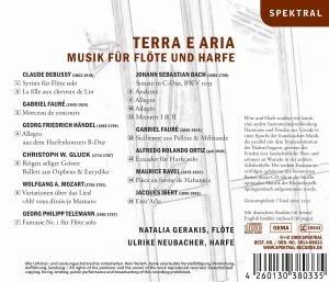 Terra E Aria-Musik Für Flöte & Harfe