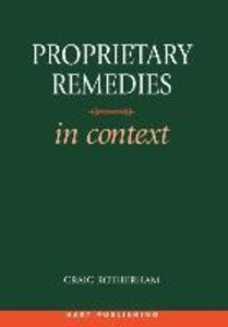 Proprietary Remedies in Context