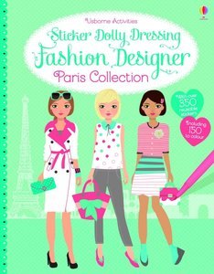 Sticker Dolly Dressing Fashion Designer: Paris Collection