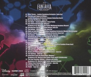 Disney Fantasia: Music Evolved (Ost)