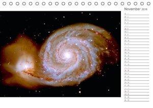 Entfernte Galaxien - Sind wir wirklich allein? (Tischkalender 20