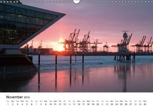 Hamburg - The Harbor (Wall Calendar 2015 DIN A3 Landscape)