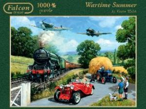 Falcon. Wartime Summer. Puzzle 1000 Teile