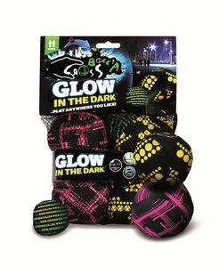 Schildkröt: Crossboccia Night Glow Double Pack, 2x3er Set für zw