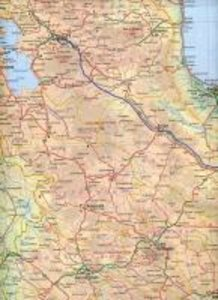 Tehran/Northern Iran Travel Maps 1 : 15 000 / 1 : 8 000 000