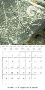 Rock paintings: The origins of art (Wall Calendar 2015 300 × 300
