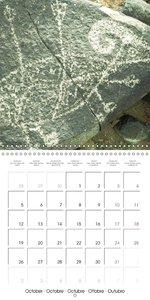Rock paintings: The origins of art (Wall Calendar 2015 300 × 300