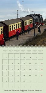 The German Harz (Wall Calendar 2015 300 × 300 mm Square)