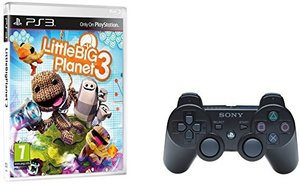 Little Big Planet 3 + Wireless DualShock Controller Black