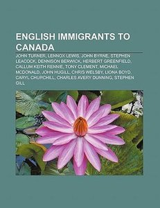 English immigrants to Canada