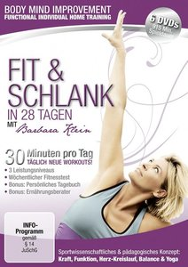 Body Mind Improvement - Fit & Schlank in 28 Tagen