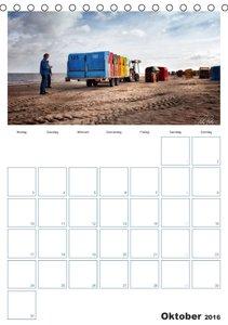 Friesland - Nordseebad Dangast (Tischkalender 2016 DIN A5 hoch)