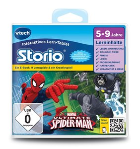 VTech 80-233004 - Storio 2 Lernspiel, ultimative Spiderman