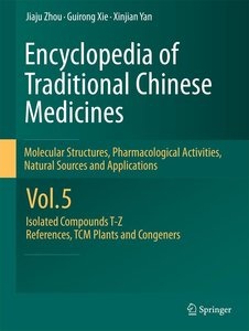Encyclopedia of Traditional Chinese Medicines 5 - Molecular Str