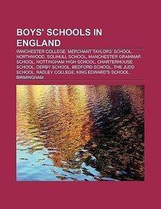 Boys' schools in England