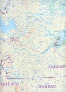 Newfoundland & Labrador Map 1 : 750 000 / 1 : 385 000