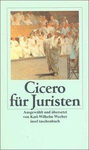 Cicero, M: Cicero f. Juristen